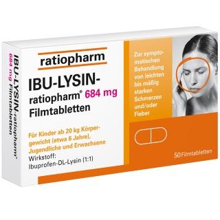 IBU-LYSIN-ratiopharm® 684 mg