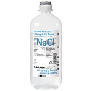 Isotone Kochsalz-Lösung 0,9 % Braun, Ecoflac® plus