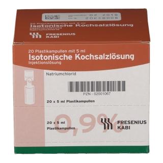Isotonische Kochsalzlösung 0,9 % Plastik-Ampullen