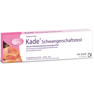 Kade® Schwangerschaftstest