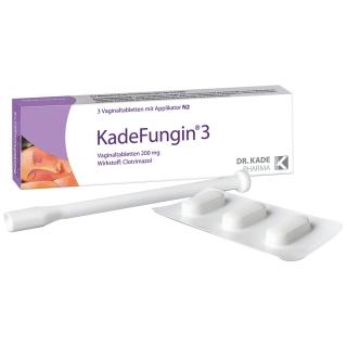 KadeFungin®3 Vaginaltabletten + 20 ml sebamed® Intim-Waschgel GRATIS