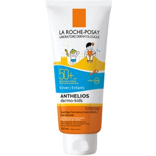 LA ROCHE-POSAY Anthelios Dermo Kids LSF 50+ Milch + After-Sun-Gel GRATIS