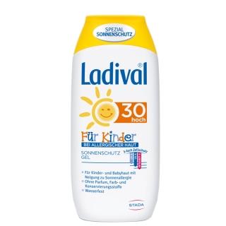 Ladival® Sonnenschutz Gel bei allergischer Haut für Kinder LSF 30
