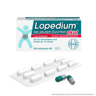Lopedium® akut 2 mg