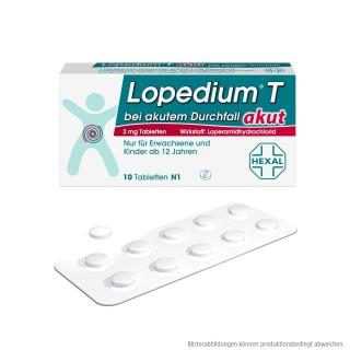 Lopedium® T akut 2 mg Tabletten