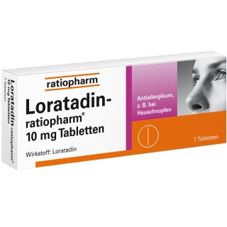 Loratadin-ratiopharm® 10 mg Tabletten bei Allergien