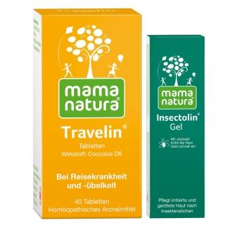 mama natura® Travelin® + Insectolin® Gel Set