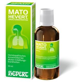MATO HEVERT® ERKÄLTUNGSTROPFEN