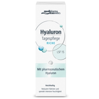 medipharma cosmetics Hyaluron Tagespflege riche mit LSF 15