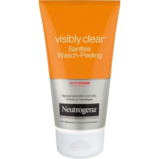 Neutrogena® visibly clear® Sanftes Wasch-Peeling