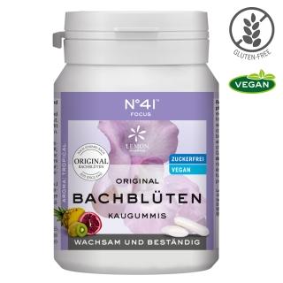 No. 41® Konzentration Original Bachblüten Kaugummis