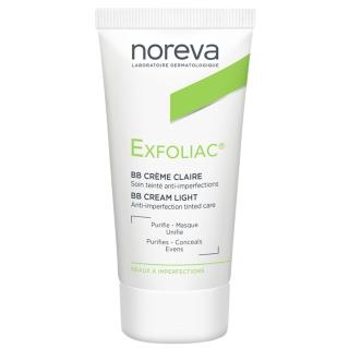 noreva Exfoliac® getönte Creme - heller Teint