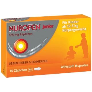 Nurofen® Junior 125 mg Zäpfchen