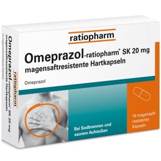 Omeprazol-ratiopharm® SK 20 mg
