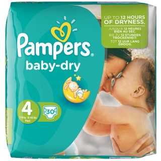 Pampers® baby-dry Gr. 4 Maxi 7-18 kg sparpack