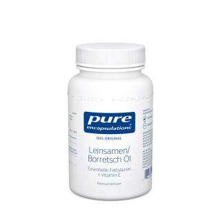 pure encapsulations® Leinsamen/Borretsch Öl
