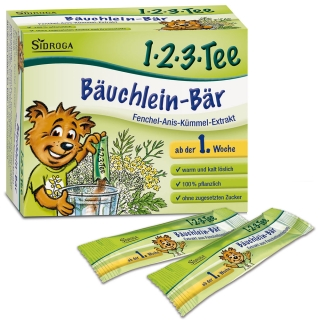 Sidroga® 1-2-3 Tee Bäuchlein-Bär®