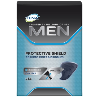 "TENA Men Protective Shield Extra Light - ""Jetzt 1€ sparen"""