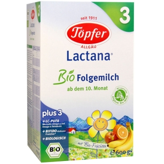 Töpfer Lactana® Bio Folgemilch 3
