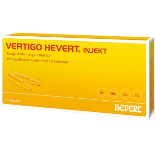 VERTIGO HEVERT® INJEKT Ampullen
