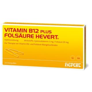 Vitamin B12-Hevert plus Folsäure-Hevert