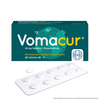 Vomacur® 50 mg Tabletten