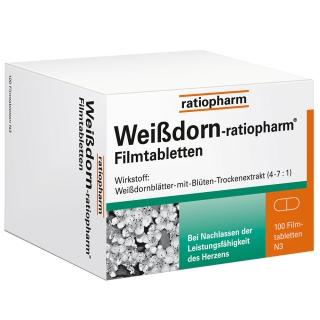 Weißdorn-ratiopharm® Filmtabletten
