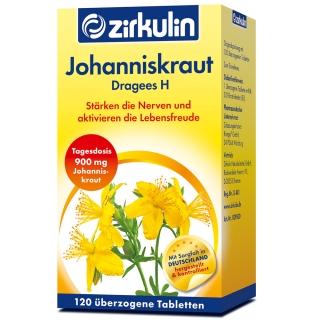 Zirkulin Johanniskraut-Dragees H