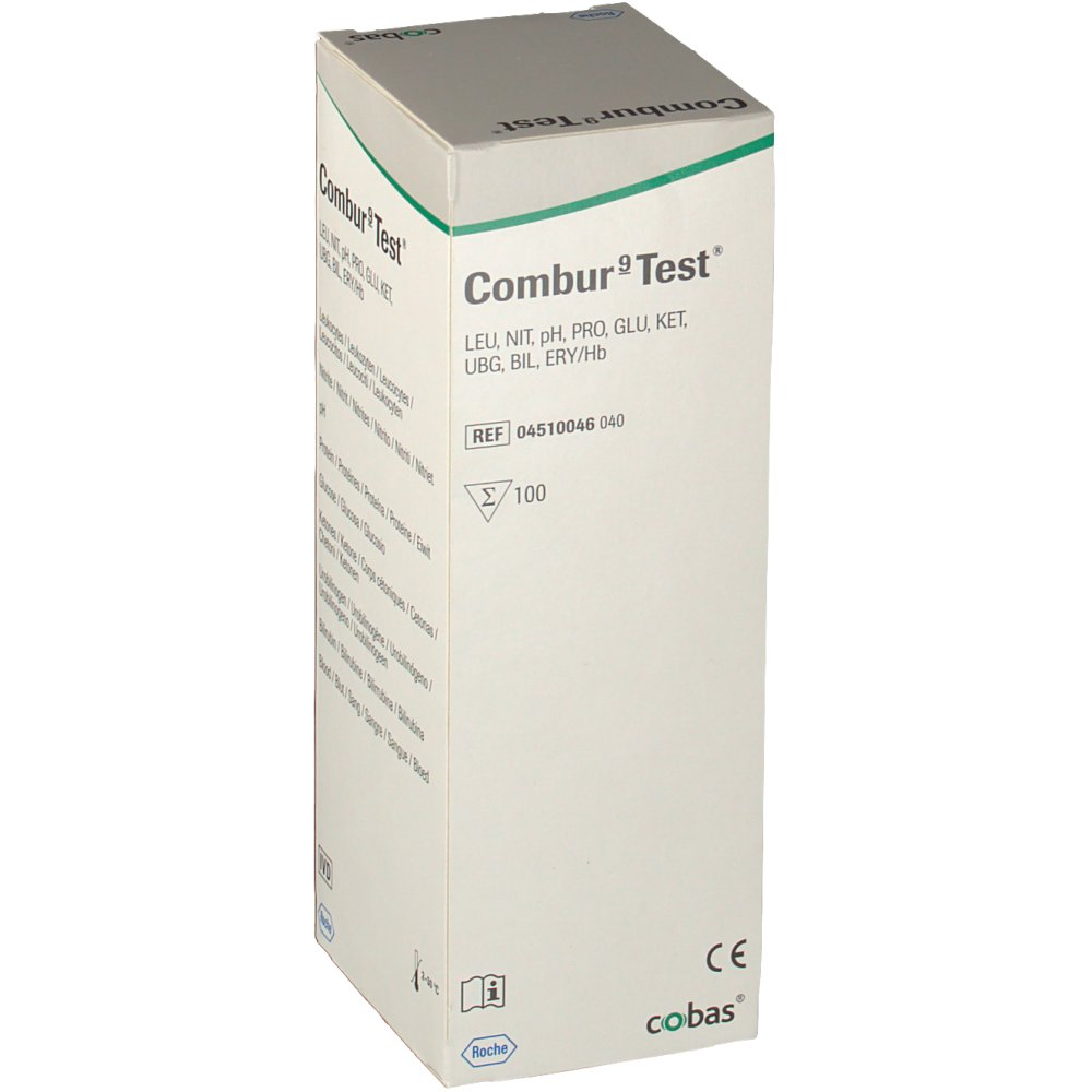 how to read a combur test