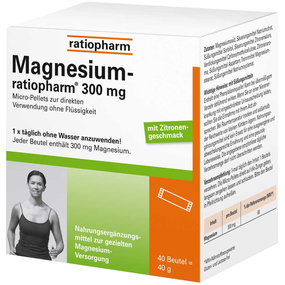 Magnesium-ratiopharm® 300 mg
