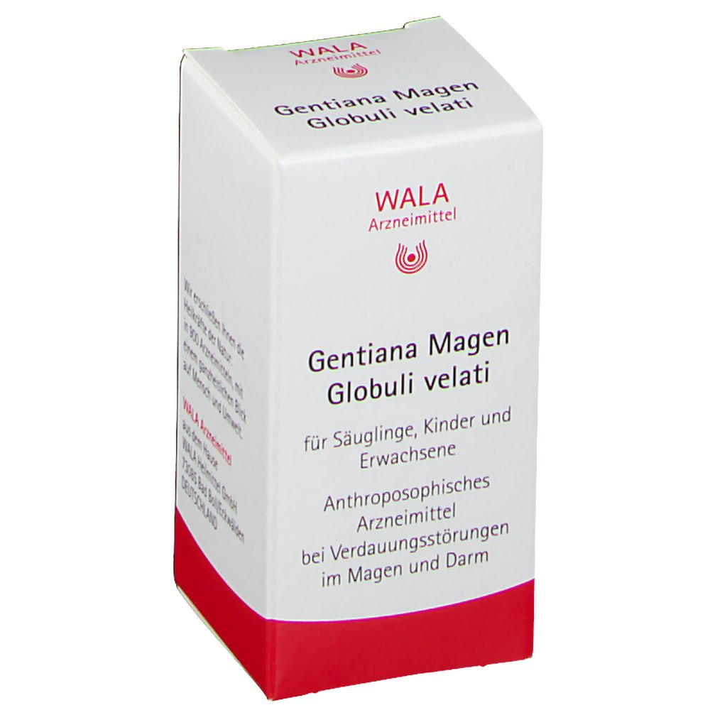 Wala® Gentiana Magen Globuli velati