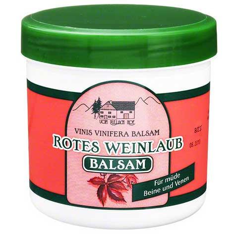 Herbamedicus Rotes Weinlaub Balsam
