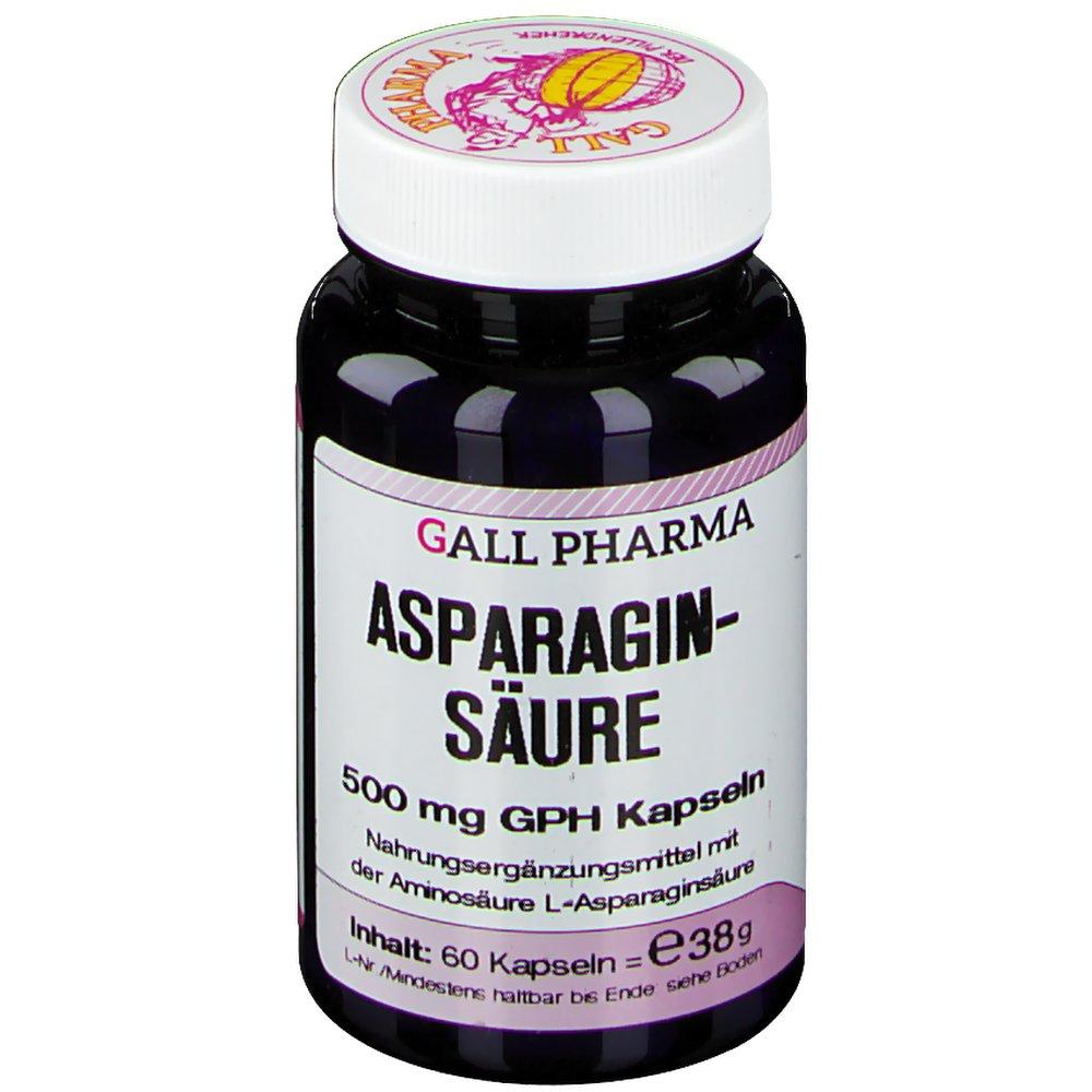 Gall Pharma Asparaginsäure 500 mg Kapseln