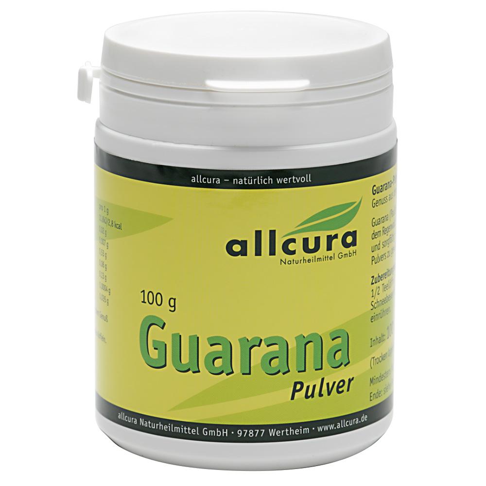 allcura guarana pulver shop