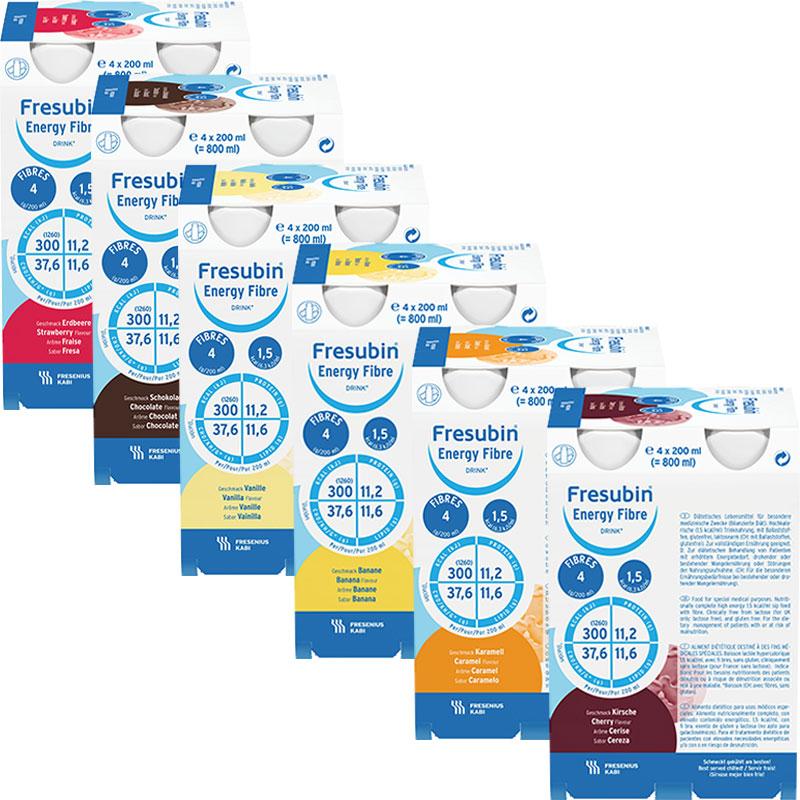 Fresubin® Energy fibre Drink Mischkarton