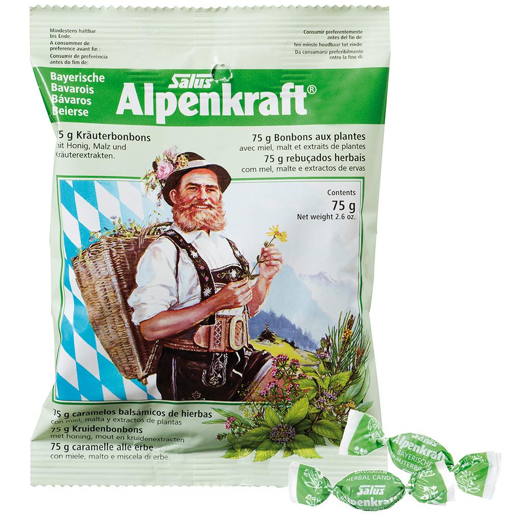 Salus® Aplenkraft® Bayerische Alpenkraft® Kräuterbonbons