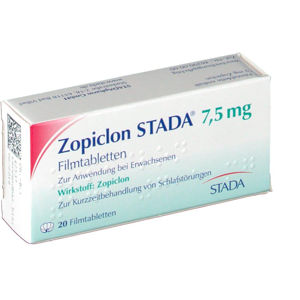 zopiclon stada 7 5 mg filmtabl shop. Black Bedroom Furniture Sets. Home Design Ideas