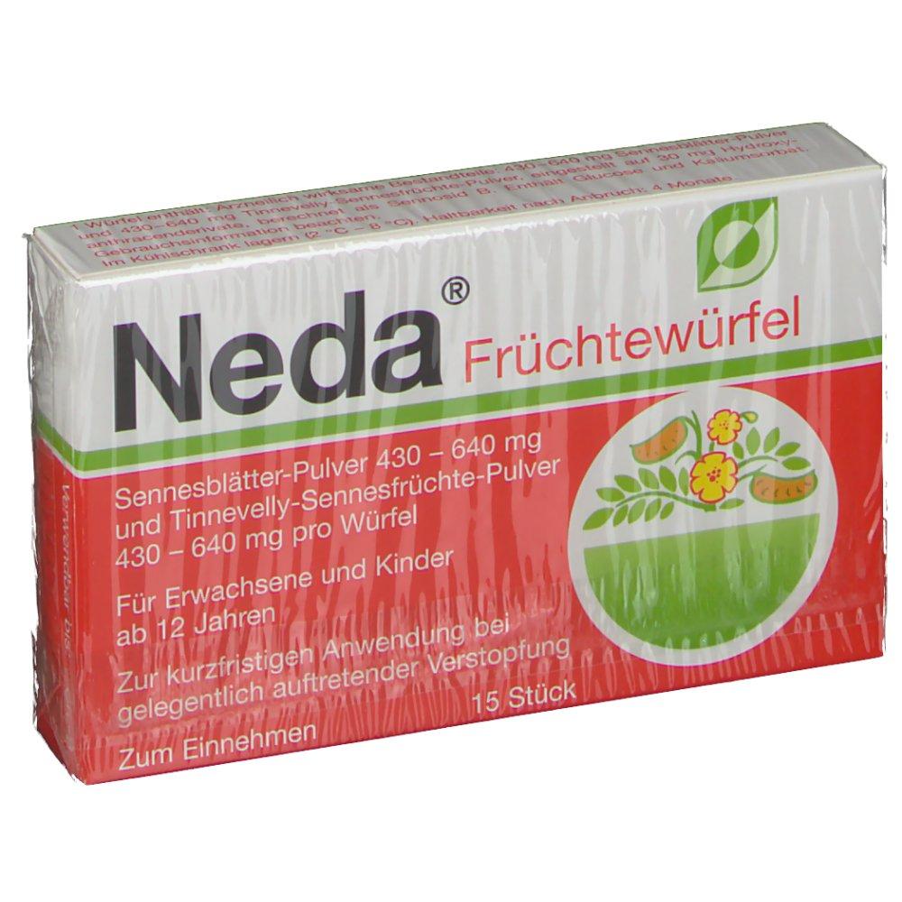 Neda Früchtewürfel® 15 St Würfel