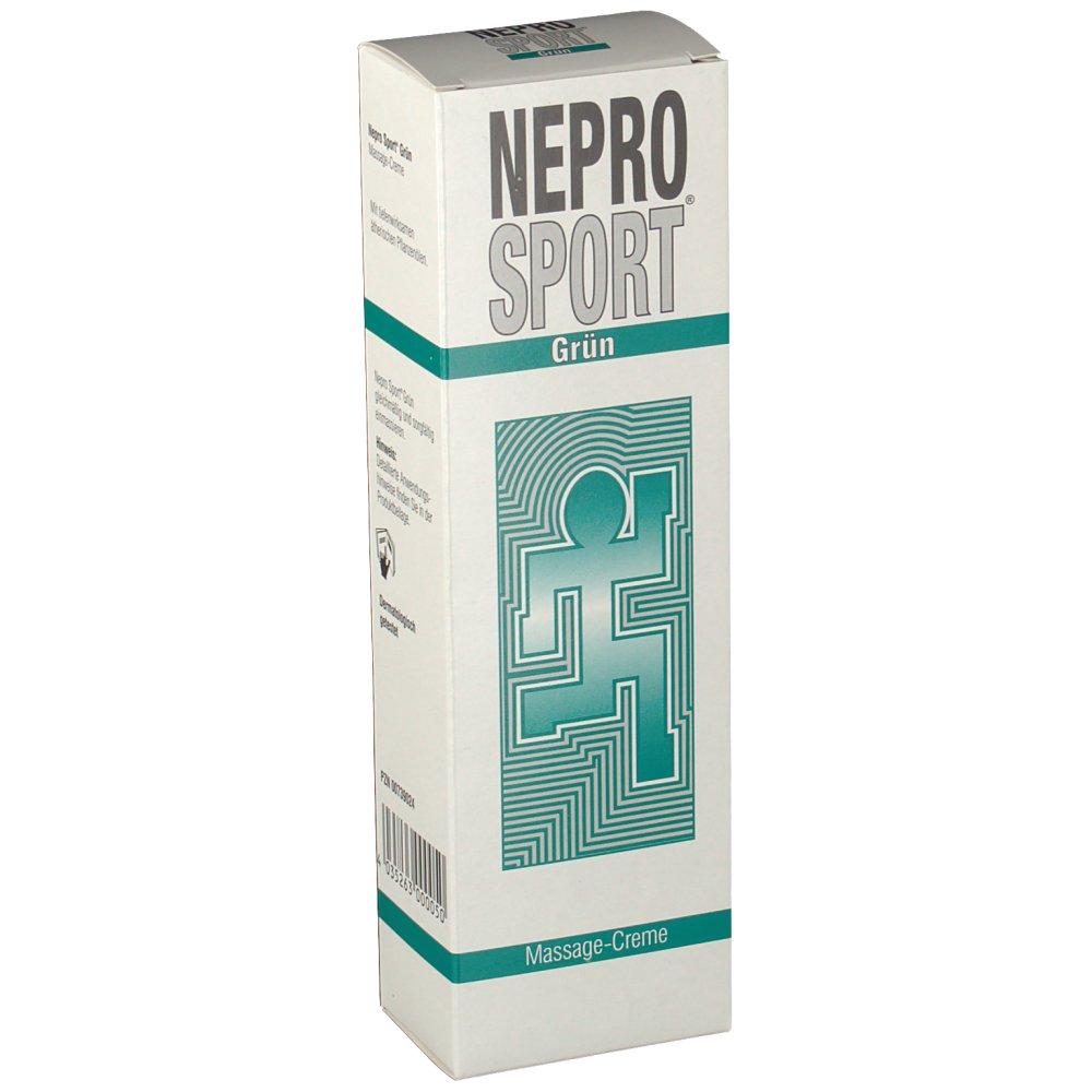 Nepro Sport Creme gruen
