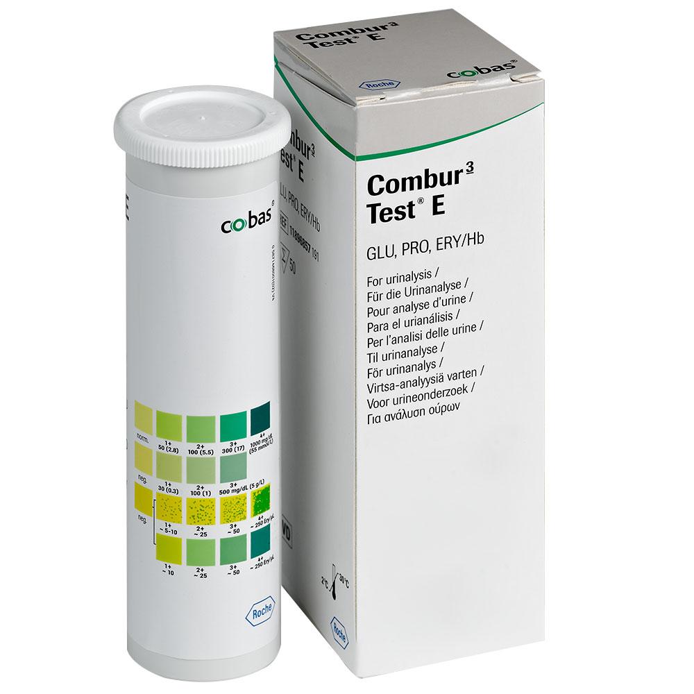 Combur 3 Test E Teststreifen