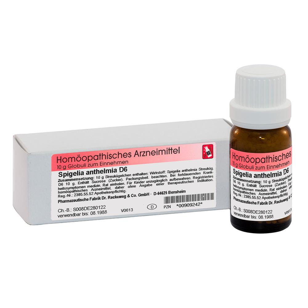 Spigelia anthelmia D6 Globuli