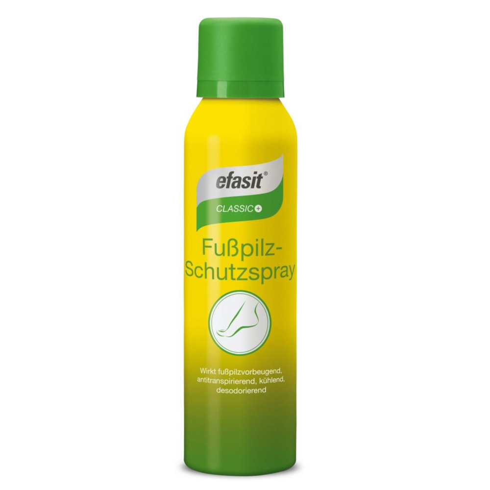 efasit® Classic Anti-Transpirant & Fusspilz Spray 150 ml Spray 00975150