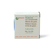 Gazin® Tamponadebinden steril 1 cm x 5 m