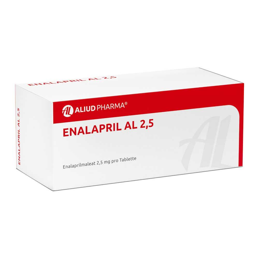 Enalapril 2 5 Mg Prospecto