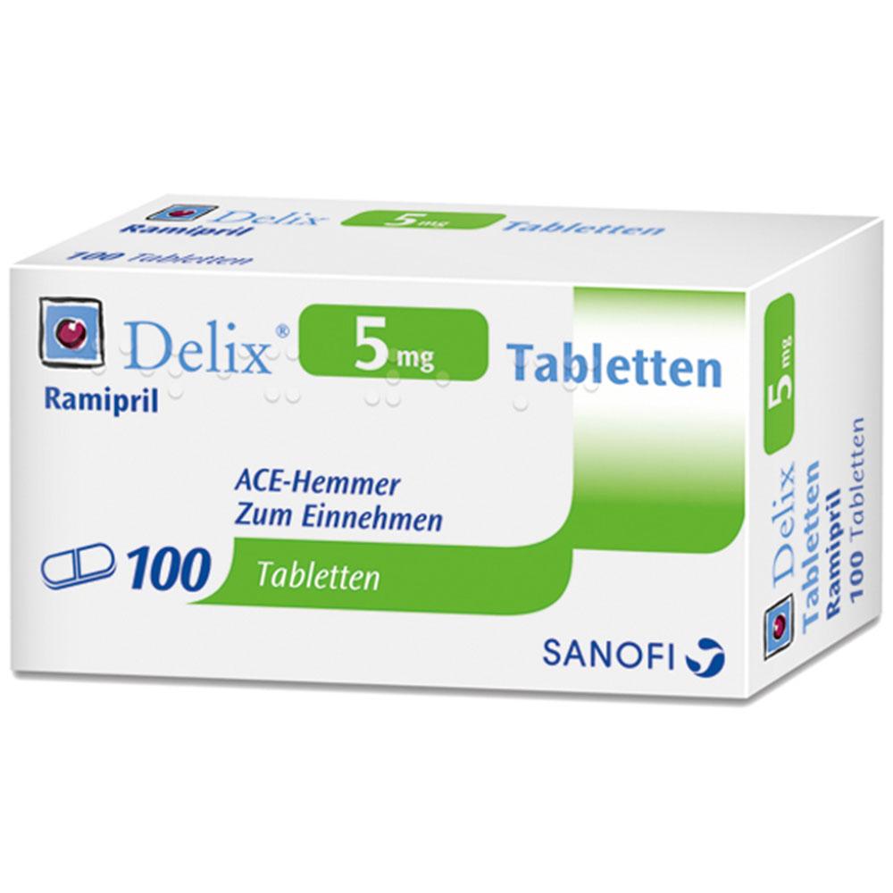 DELIX 5 mg Tabletten - shop-apotheke.com