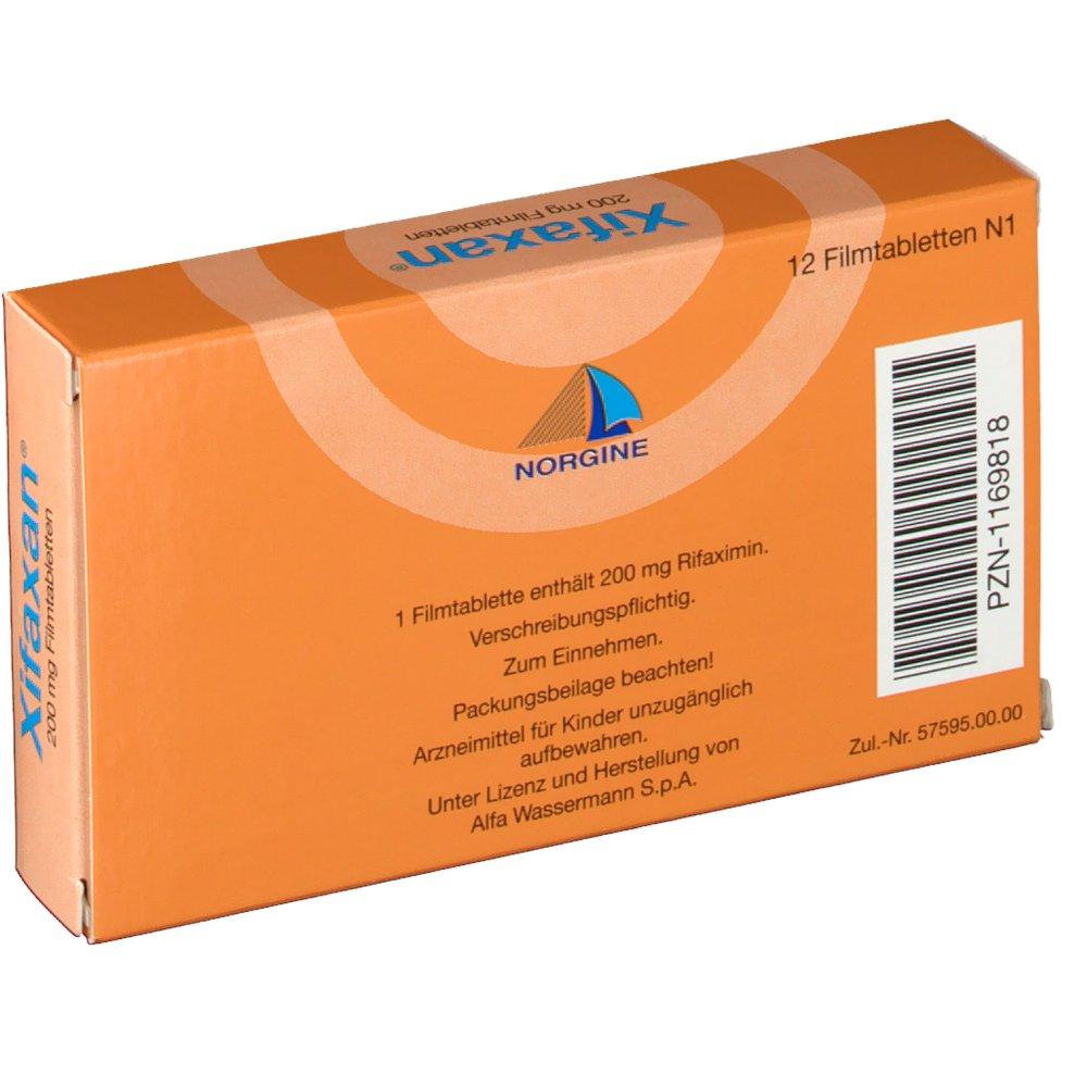 XIFAXAN 200 mg Filmtabletten - shop-apotheke.com