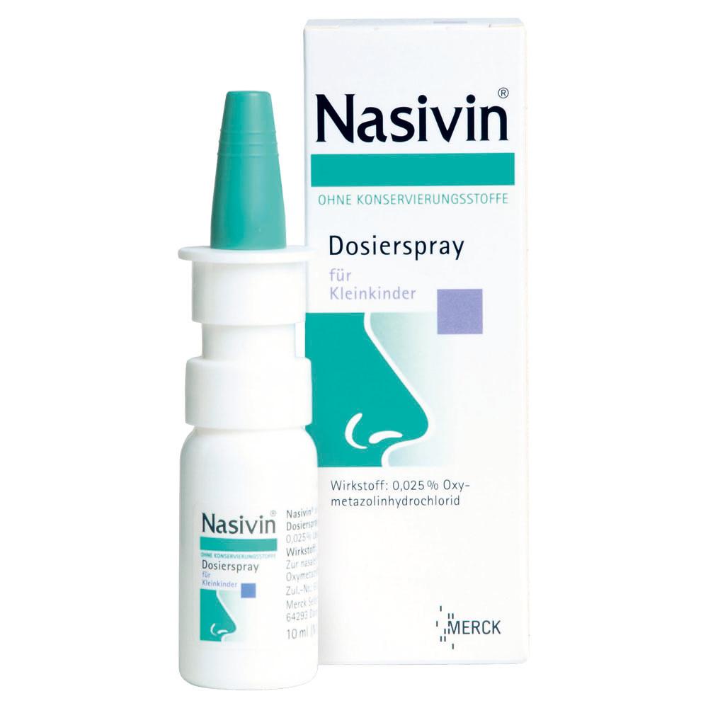 Nasivin® ohne Konservierungsstoffe Dosierspray für Kleinkinder