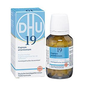 DHU Biochemie 19 Cuprum arsenicosum D12