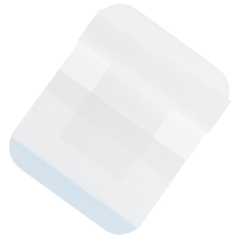 DracoPor Wundverband Soft weiß steril 10 x 8cm