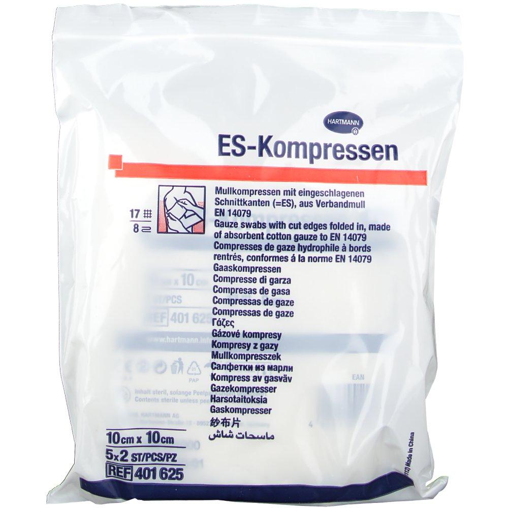 ES-Kompressen steril 8fach 10 x 10 cm